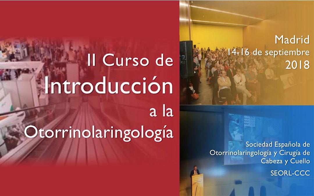 II CURSO de Introducción a la Otorrinolaringología