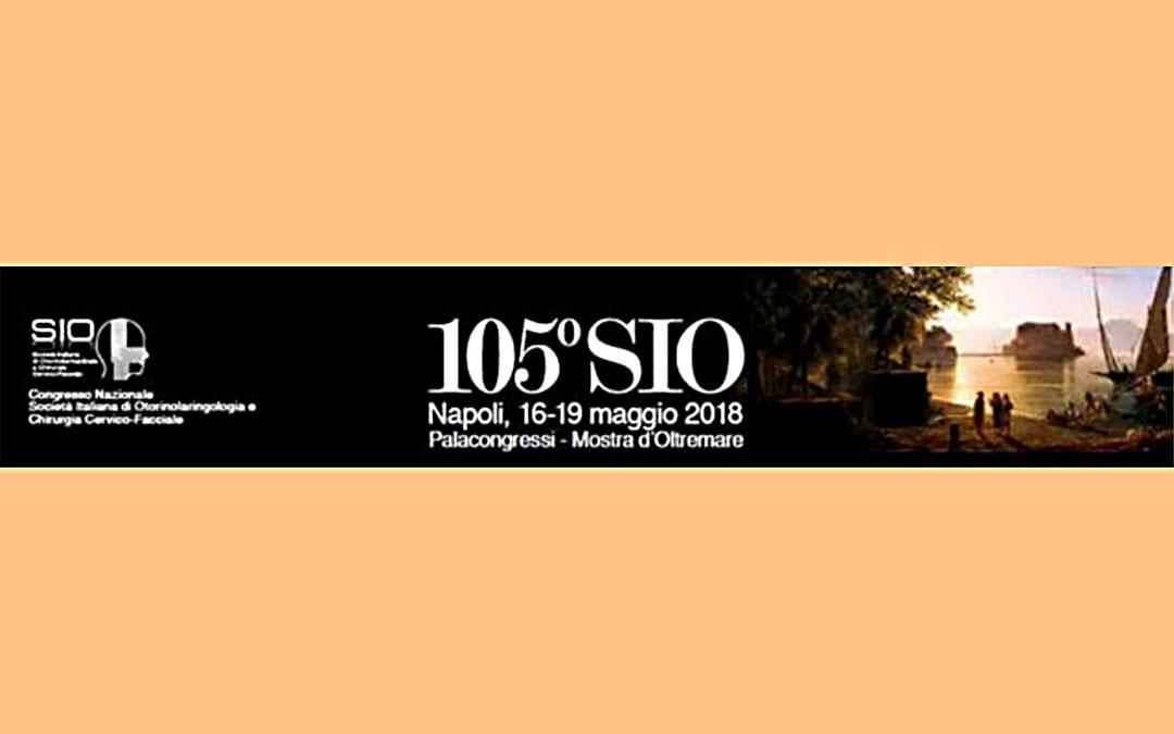 105th National Congress of the SIO (Societá Italiana di Otolaringoiatria)