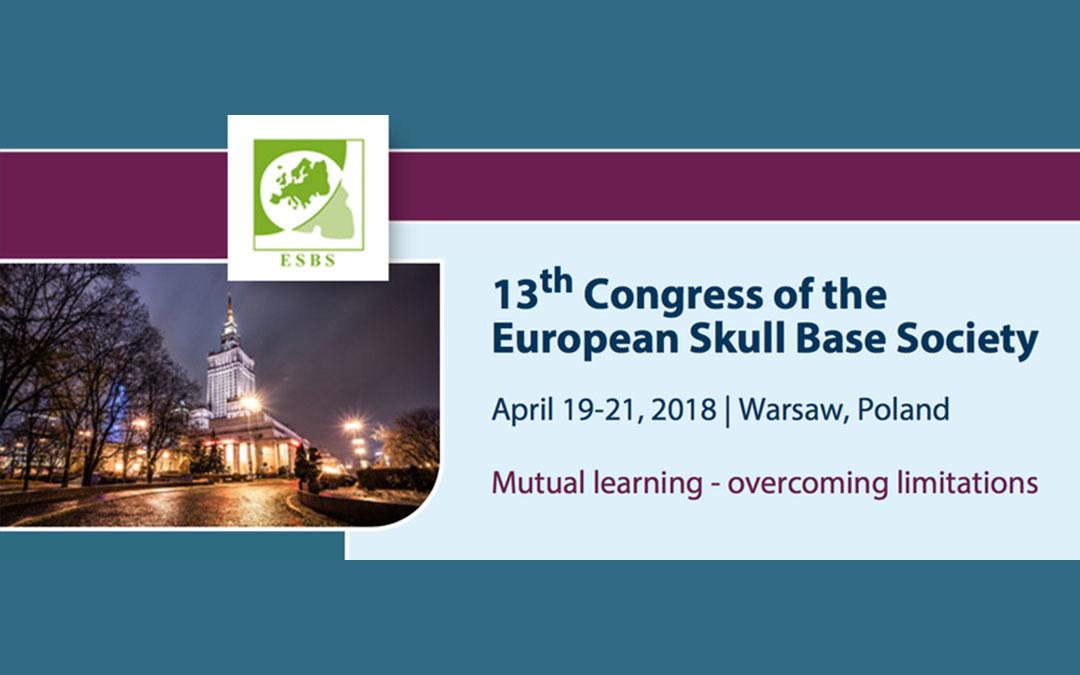 13th Congress of the European Skull Base Society