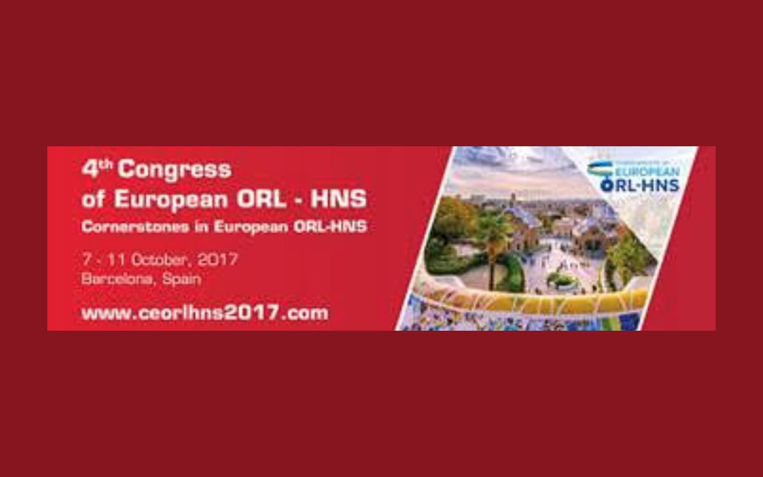 European Congress of ORL-HNS Barcelona