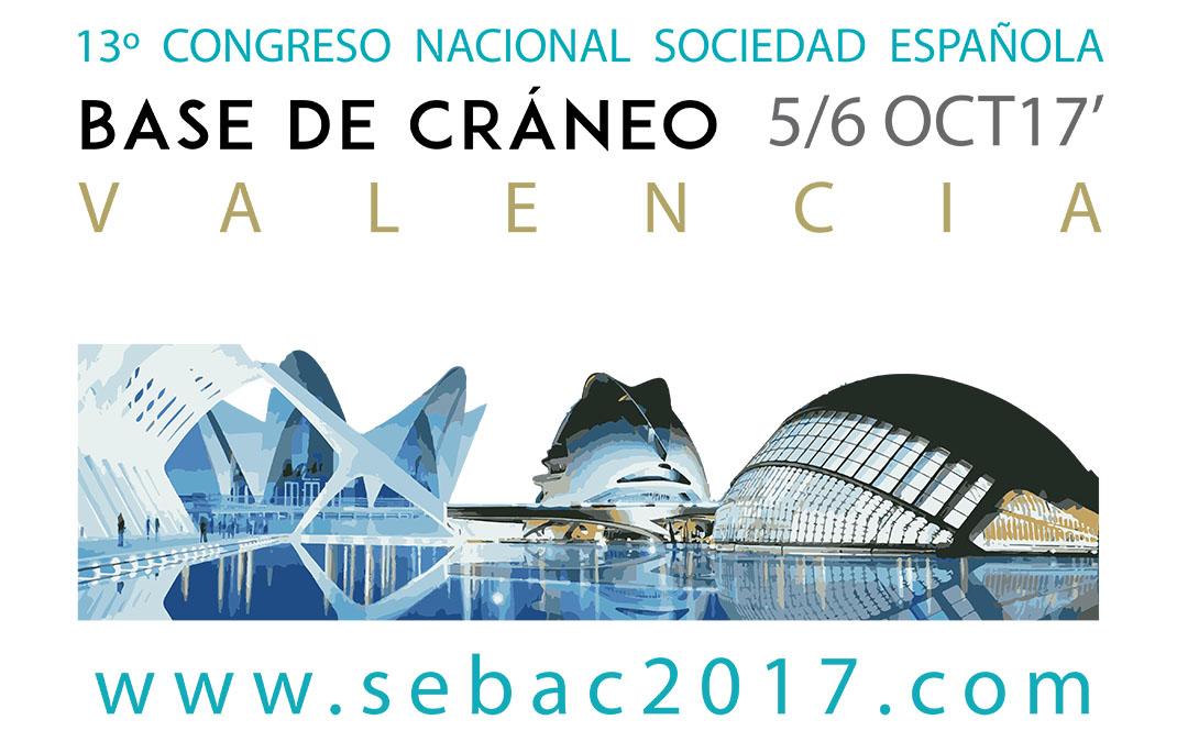 13 Congreso Nacional de la Sociedad Española de Base de Cráneo (SEBAC)